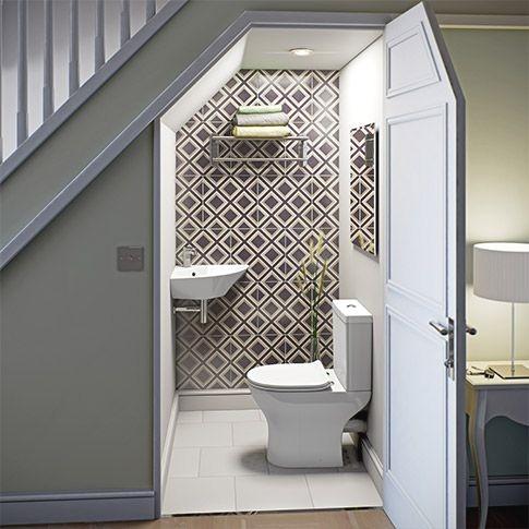 Toilettes sous escaliers: avantages /inconvénients?